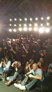 Die Presse ist gespannt.. wie hier vom letzten Jahr ...